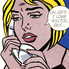Oh Jeff I Love You Too But, 1964 © Roy Lichtenstein