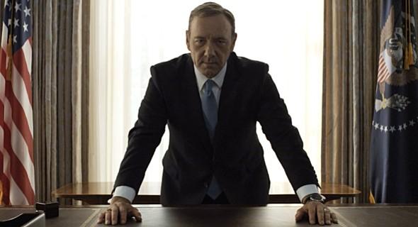 """Kevin Spacey dans """"House of Cards"""", Saison 2, épisode 26"""