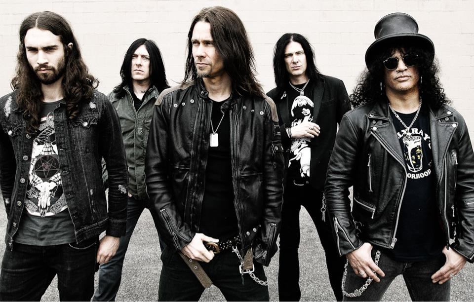 Slash avec Myles Kennedy And The Conspirators