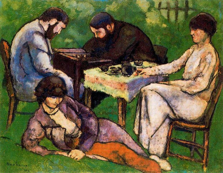 Joueurs d'échecs, 1911