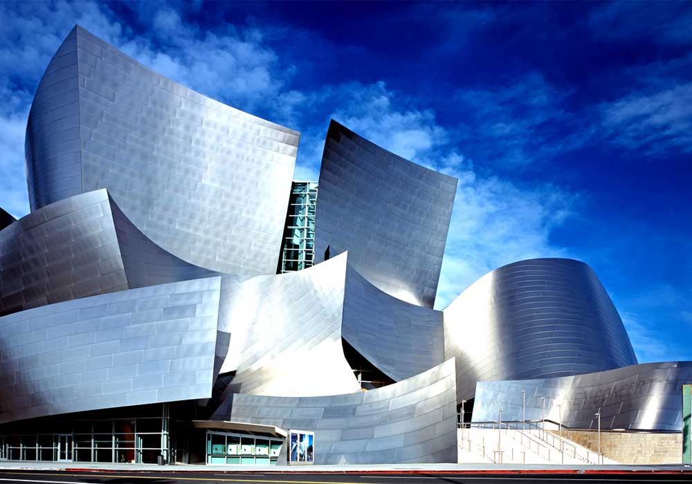 Walt Disney Concert Hall (Los Angeles, Etats-Unis) 1989-2003