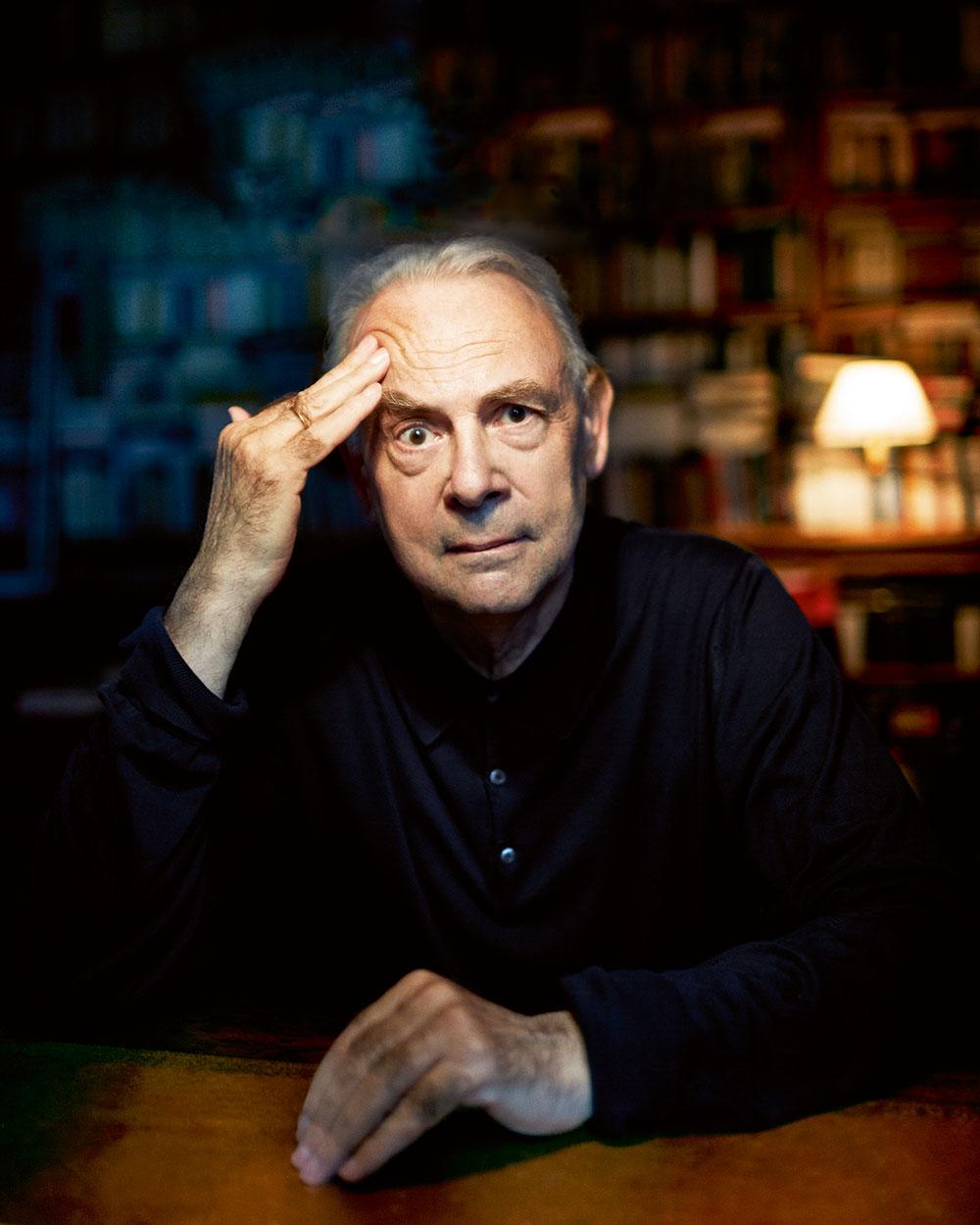 L'écrivain Patrick Modiano