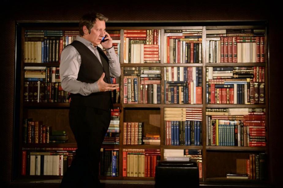 La bibliothèque © Photo fournie par le théâtre du Grand T