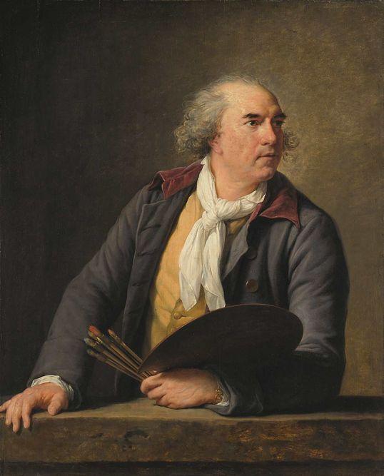 Le peintre Hubert Robert, par Élisabeth Louise Vigée Le Brun (1788)